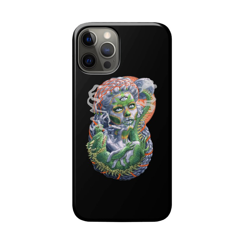 Mary Jane Catrina Accessories Phone Case by Ayota Illustration Shop