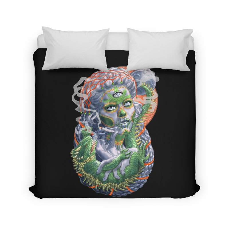 Mary Jane Catrina Home Duvet by Ayota Illustration Shop