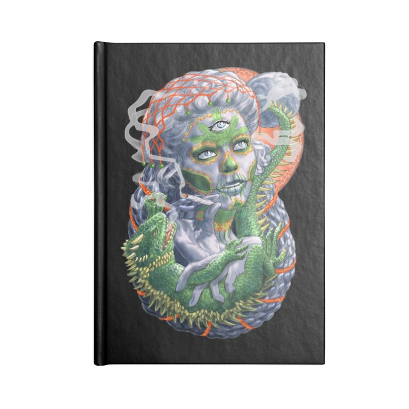 Mary Jane Catrina Accessories Notebook by Ayota Illustration Shop