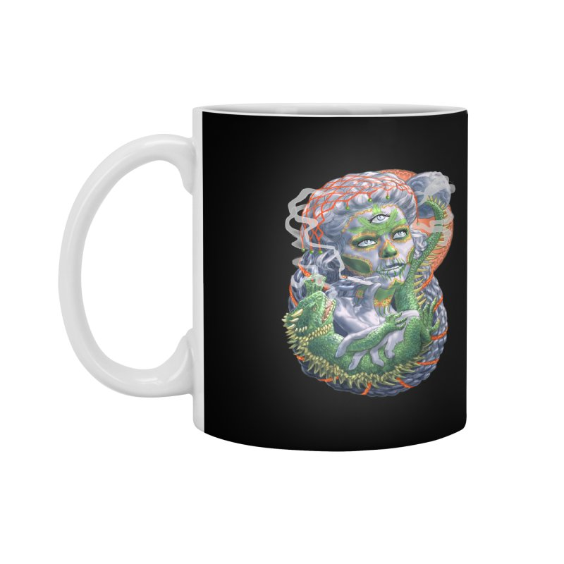 Mary Jane Catrina Accessories Mug by Ayota Illustration Shop