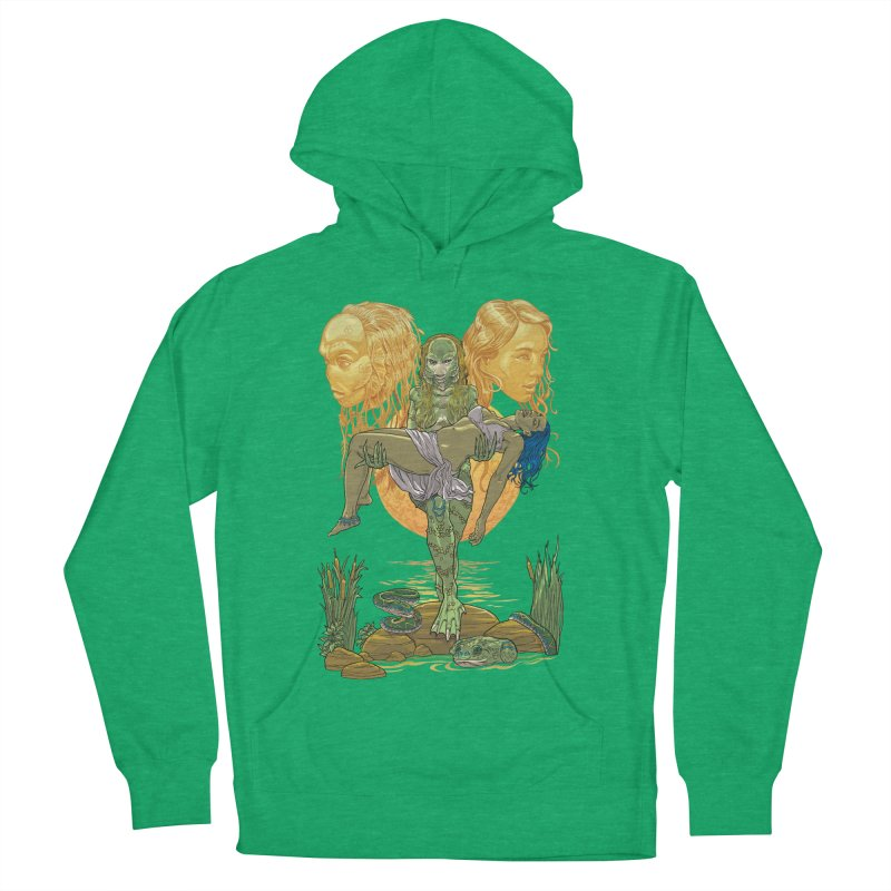 She Creature Men's French Terry Pullover Hoody by Ayota Illustration Shop