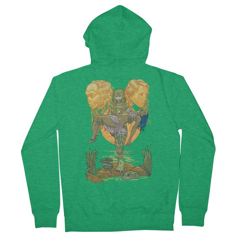 She Creature Men's Zip-Up Hoody by Ayota Illustration Shop