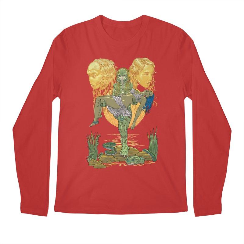 She Creature Men's Regular Longsleeve T-Shirt by Ayota Illustration Shop