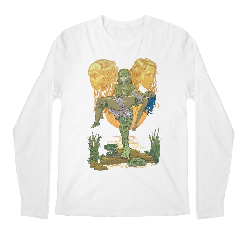 She Creature Men's Regular Longsleeve T-Shirt by Ayota Illustration Shop