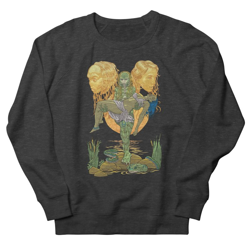 She Creature Men's French Terry Sweatshirt by Ayota Illustration Shop