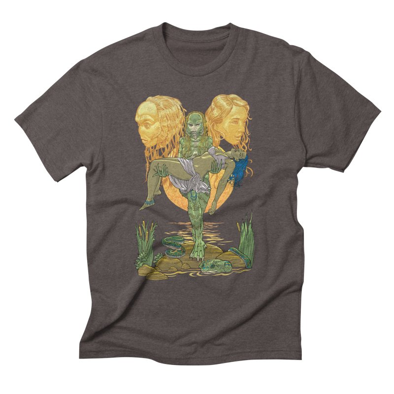 She Creature Men's Triblend T-Shirt by Ayota Illustration Shop