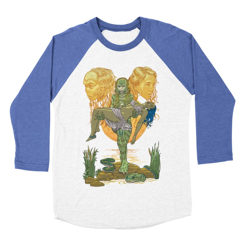 She Creature Women's Baseball Triblend Longsleeve T-Shirt by Ayota Illustration Shop