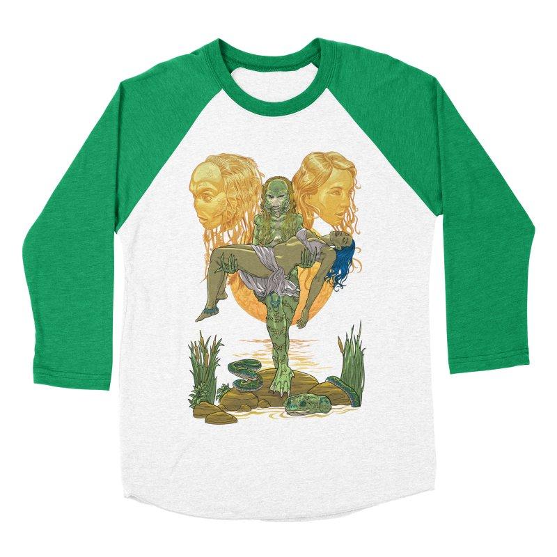 She Creature Men's Baseball Triblend Longsleeve T-Shirt by Ayota Illustration Shop