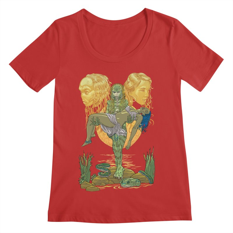 She Creature Women's Regular Scoop Neck by Ayota Illustration Shop