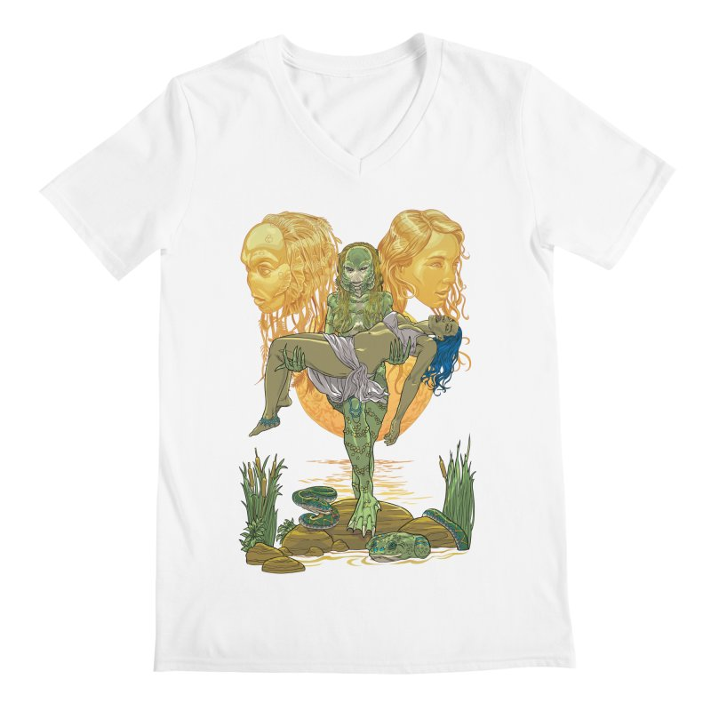 She Creature Men's V-Neck by Ayota Illustration Shop