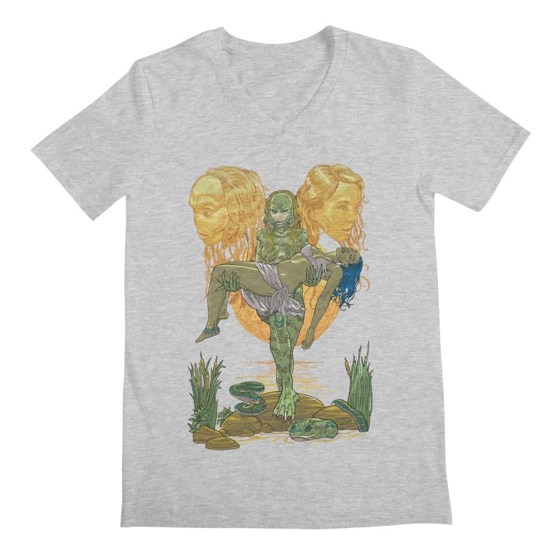 She Creature Men's Regular V-Neck by Ayota Illustration Shop