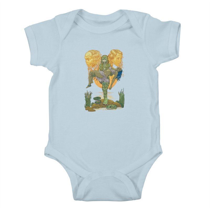 She Creature Kids Baby Bodysuit by Ayota Illustration Shop