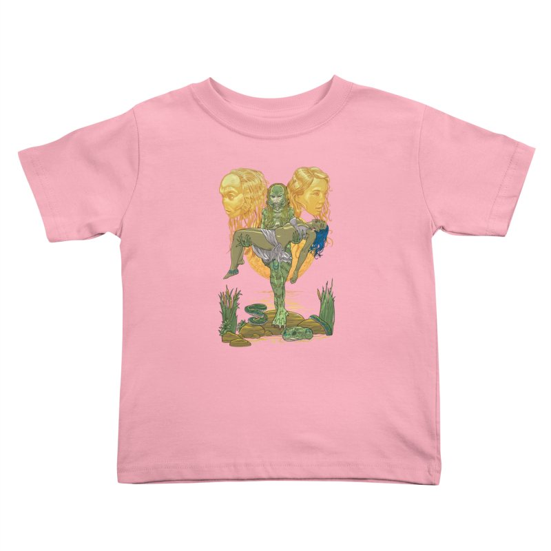 She Creature Kids Toddler T-Shirt by Ayota Illustration Shop