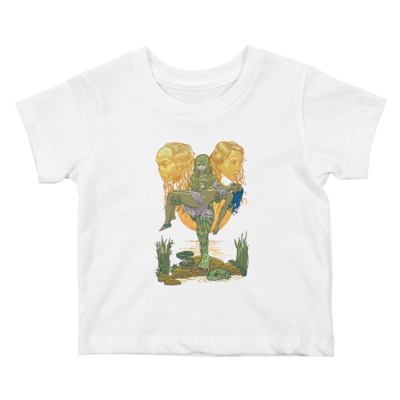 She Creature Kids Baby T-Shirt by Ayota Illustration Shop
