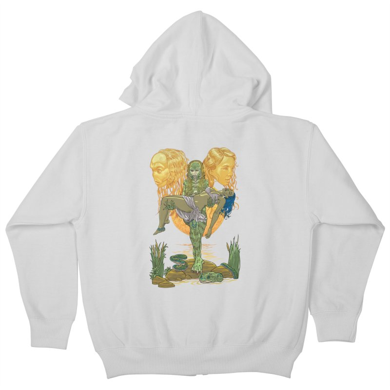 She Creature Kids Zip-Up Hoody by Ayota Illustration Shop