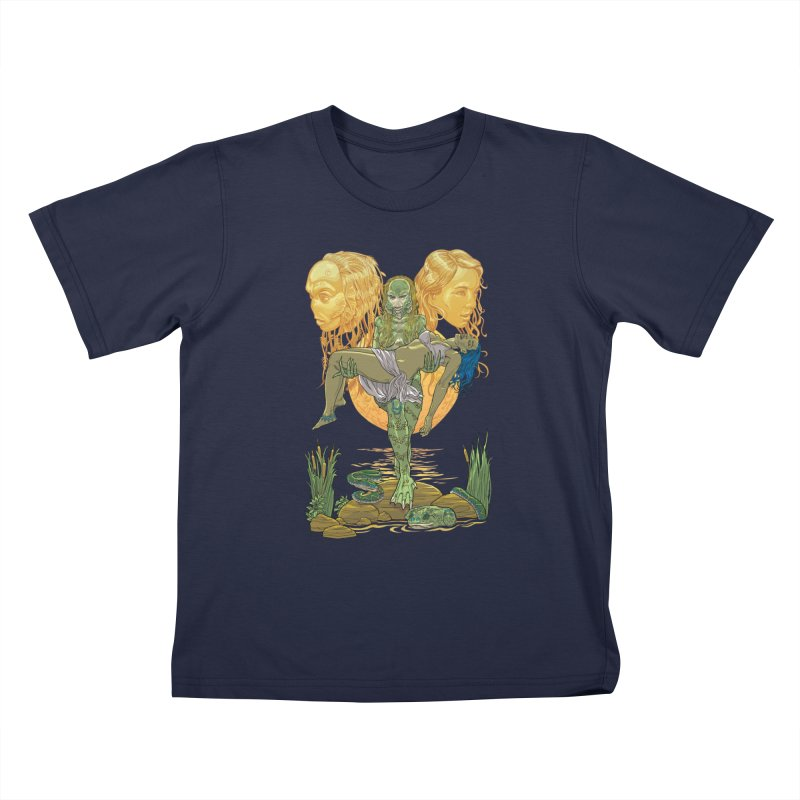 She Creature Kids T-Shirt by Ayota Illustration Shop