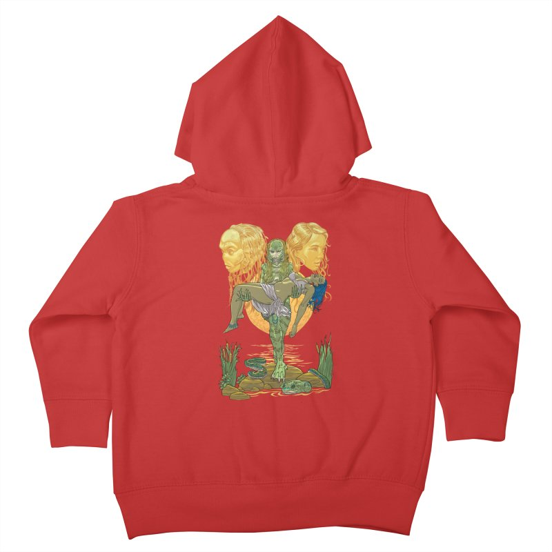 She Creature Kids Toddler Zip-Up Hoody by Ayota Illustration Shop