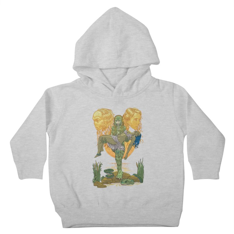 She Creature Kids Toddler Pullover Hoody by Ayota Illustration Shop