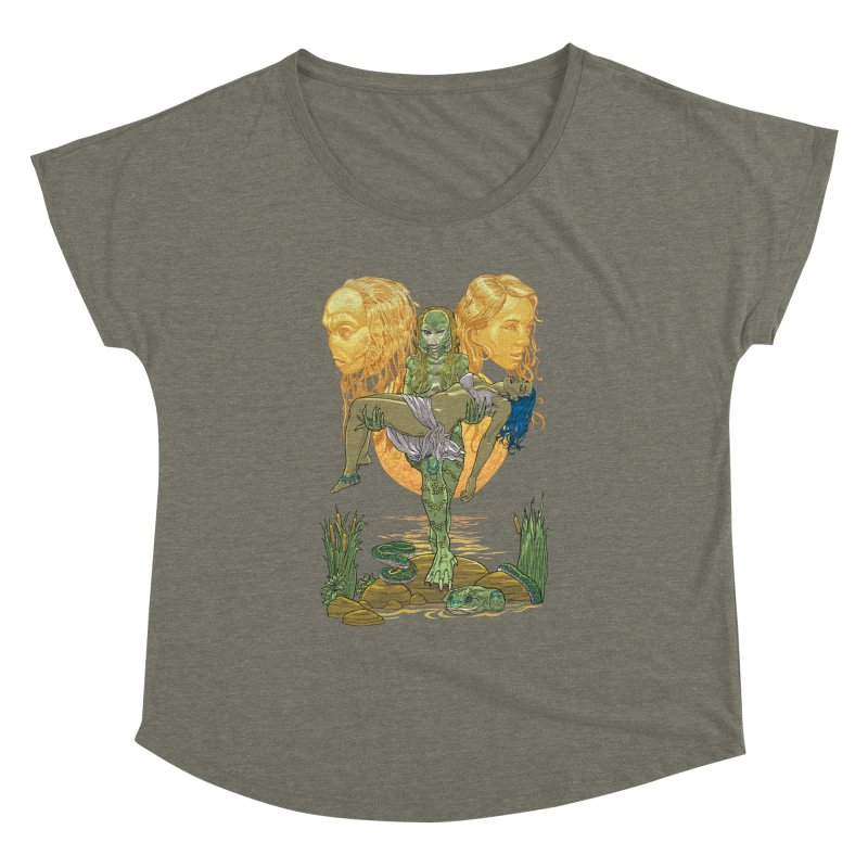 She Creature Women's Dolman Scoop Neck by Ayota Illustration Shop