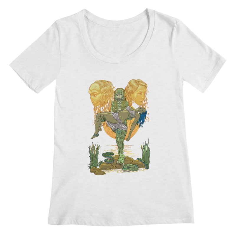 She Creature Women's Scoop Neck by Ayota Illustration Shop