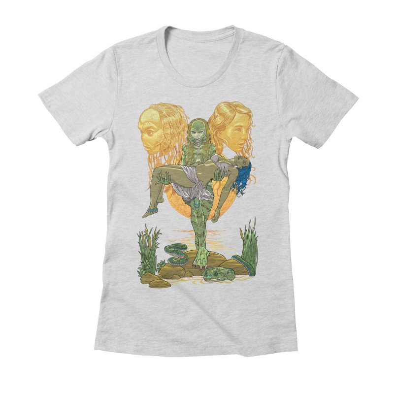 She Creature Women's Fitted T-Shirt by Ayota Illustration Shop