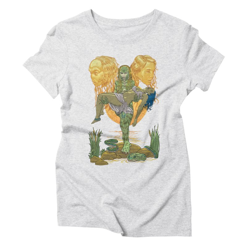 She Creature Women's Triblend T-Shirt by Ayota Illustration Shop