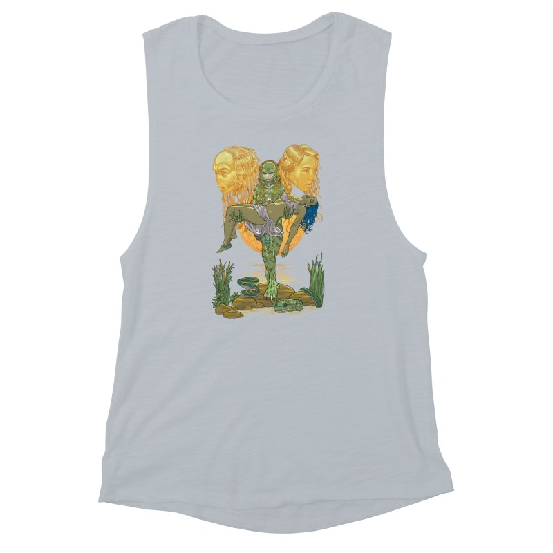 She Creature Women's Muscle Tank by Ayota Illustration Shop