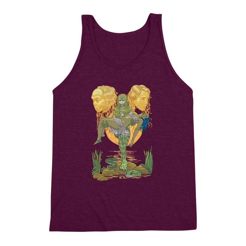 She Creature Men's Triblend Tank by Ayota Illustration Shop