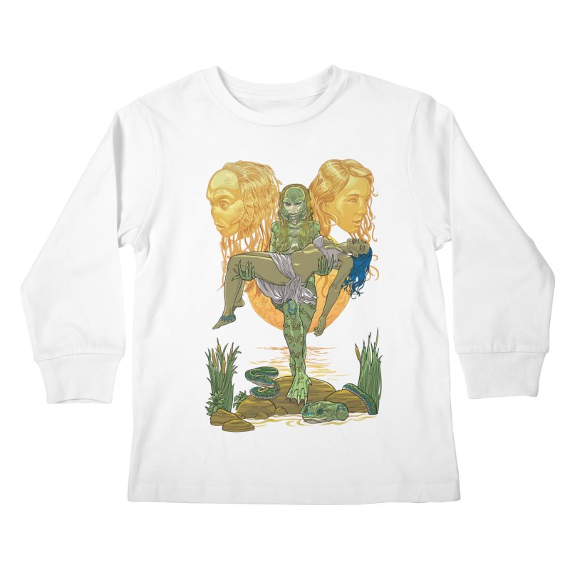 She Creature Kids Longsleeve T-Shirt by Ayota Illustration Shop