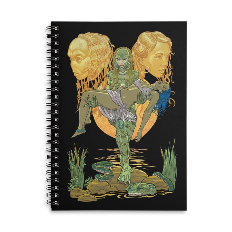 She Creature Accessories Notebook by Ayota Illustration Shop