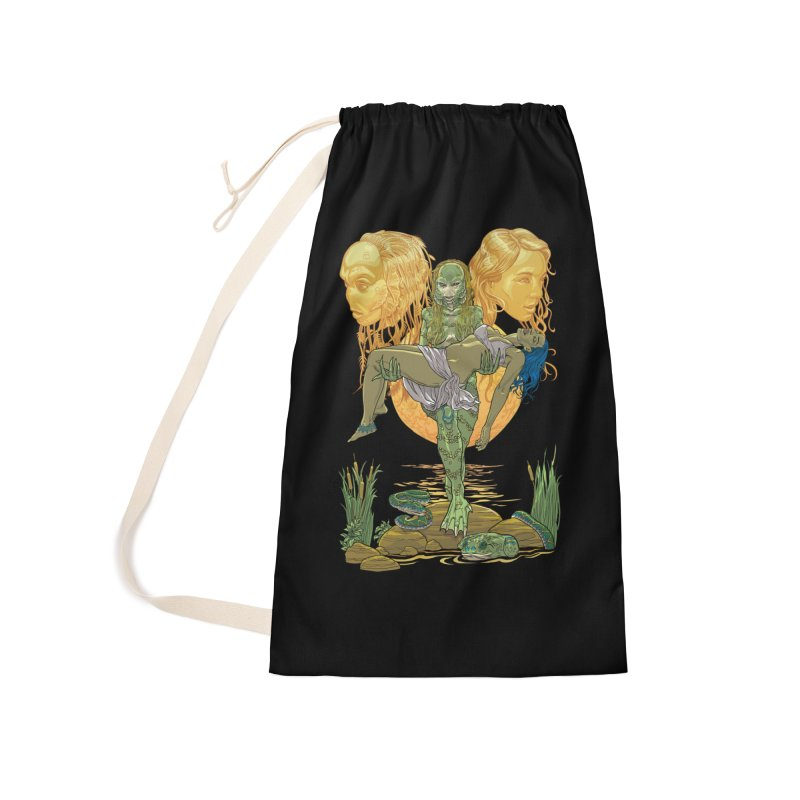 She Creature Accessories Laundry Bag Bag by Ayota Illustration Shop
