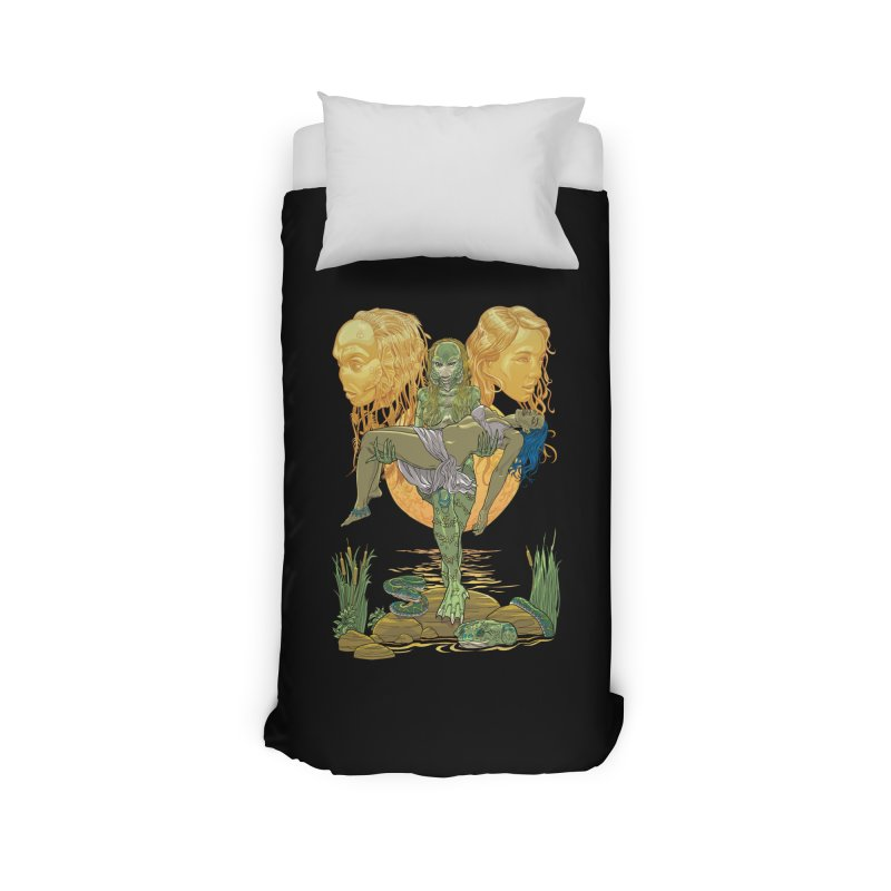 She Creature Home Duvet by Ayota Illustration Shop