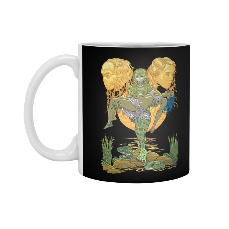 She Creature Accessories Mug by Ayota Illustration Shop
