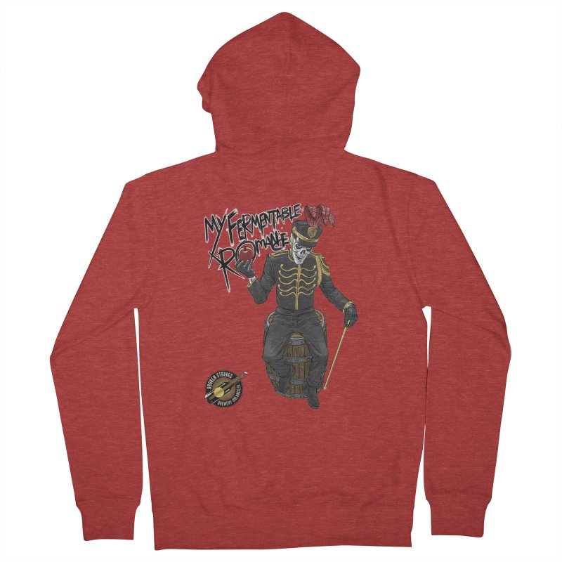 My Fermentable Romance Men's French Terry Zip-Up Hoody by Ayota Illustration Shop