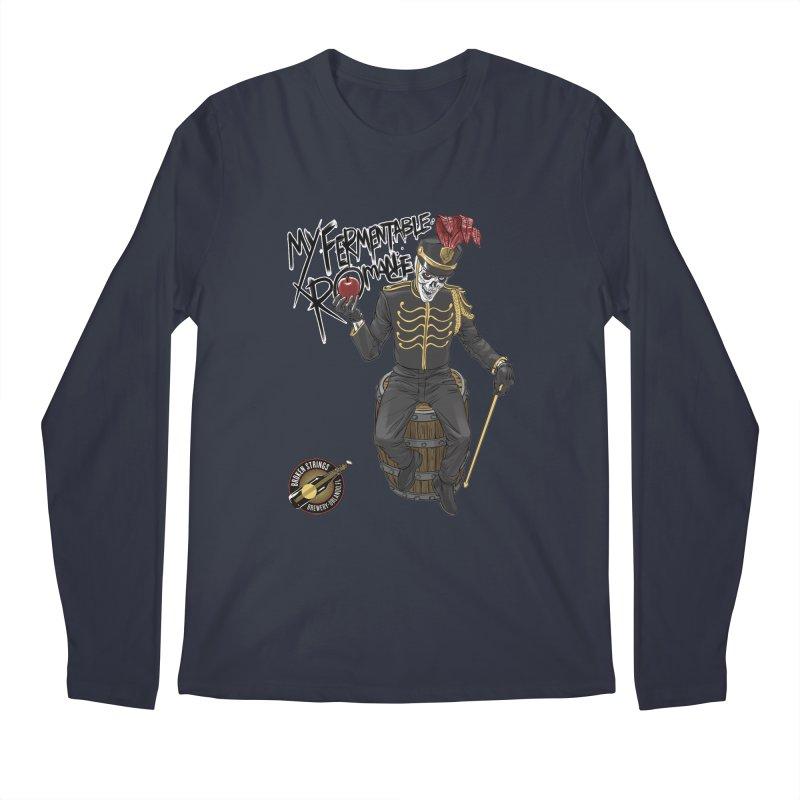 My Fermentable Romance Men's Regular Longsleeve T-Shirt by Ayota Illustration Shop