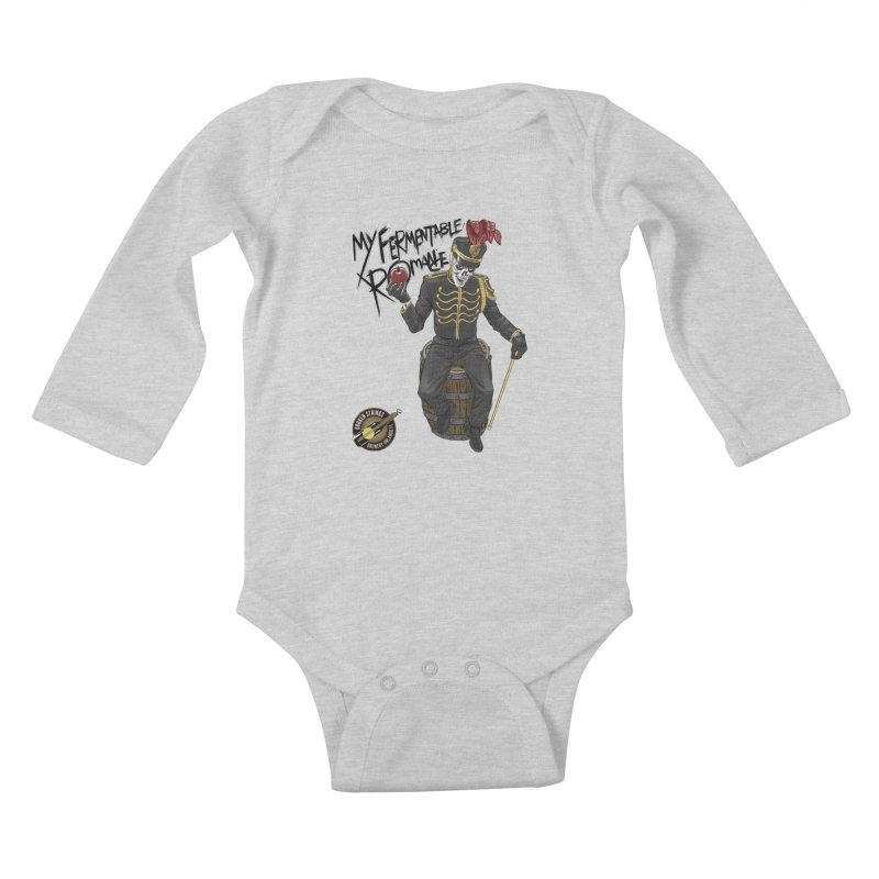 My Fermentable Romance Kids Baby Longsleeve Bodysuit by Ayota Illustration Shop