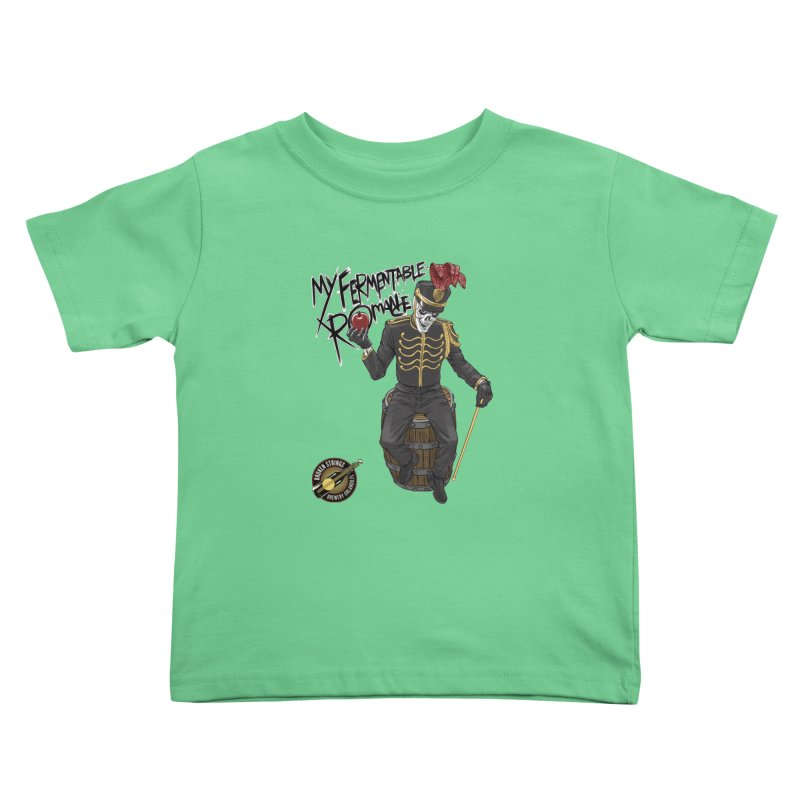 My Fermentable Romance Kids Toddler T-Shirt by Ayota Illustration Shop