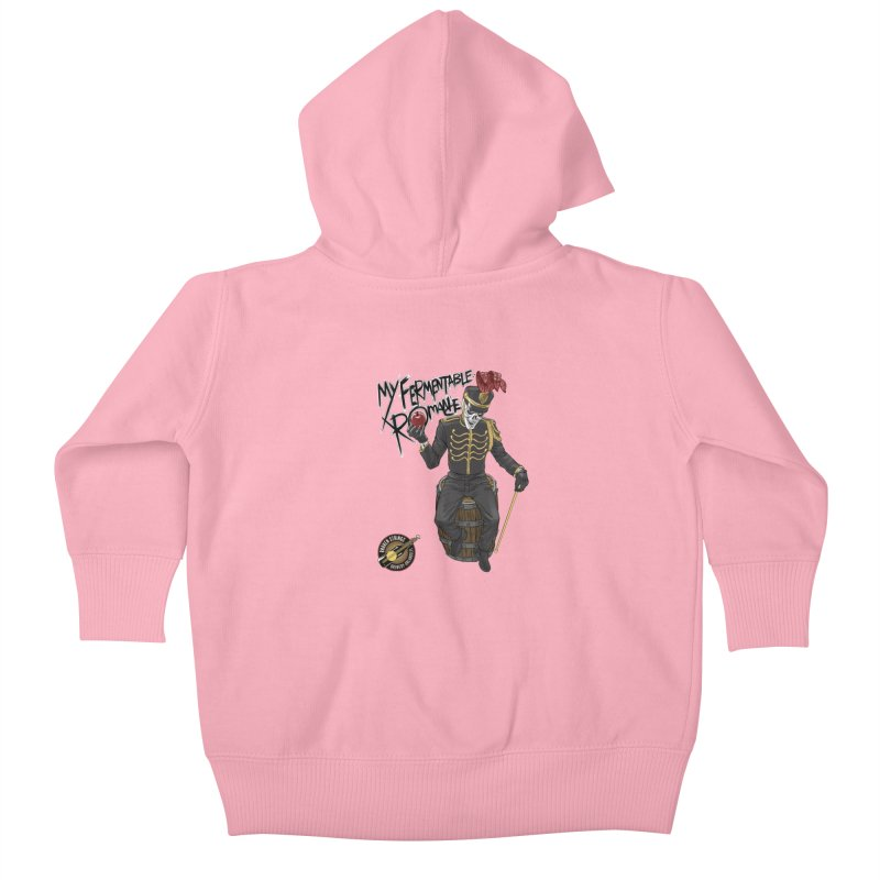 My Fermentable Romance Kids Baby Zip-Up Hoody by Ayota Illustration Shop