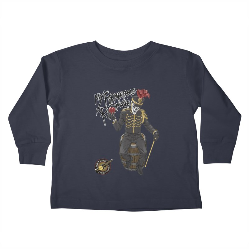 My Fermentable Romance Kids Toddler Longsleeve T-Shirt by Ayota Illustration Shop