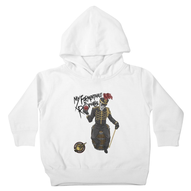 My Fermentable Romance Kids Toddler Pullover Hoody by Ayota Illustration Shop
