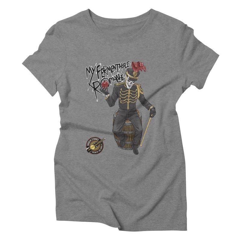My Fermentable Romance Women's Triblend T-Shirt by Ayota Illustration Shop