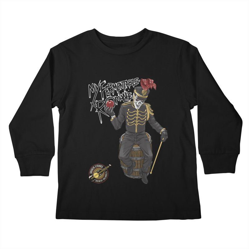My Fermentable Romance Kids Longsleeve T-Shirt by Ayota Illustration Shop