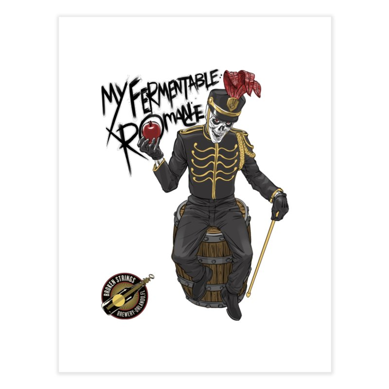 My Fermentable Romance Home Fine Art Print by Ayota Illustration Shop