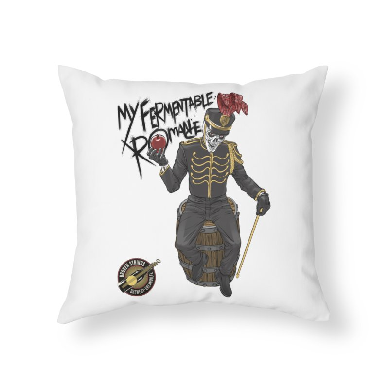 My Fermentable Romance Home Throw Pillow by Ayota Illustration Shop