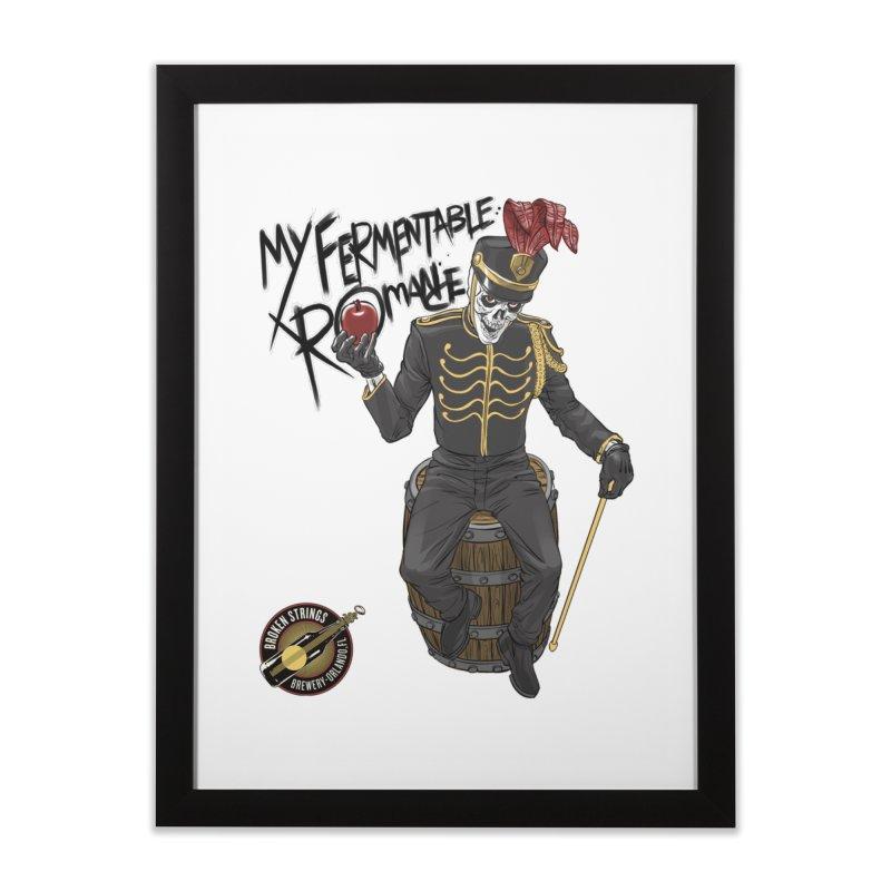 My Fermentable Romance Home Framed Fine Art Print by Ayota Illustration Shop