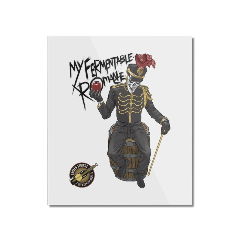 My Fermentable Romance Home Mounted Acrylic Print by Ayota Illustration Shop