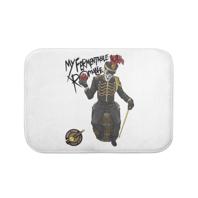 My Fermentable Romance Home Bath Mat by Ayota Illustration Shop