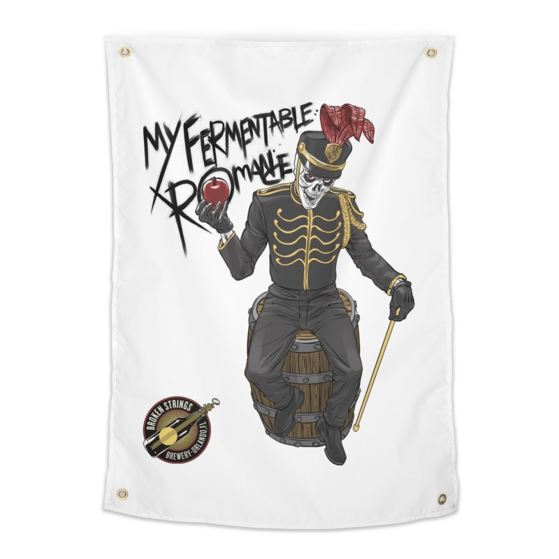 My Fermentable Romance Home Tapestry by Ayota Illustration Shop