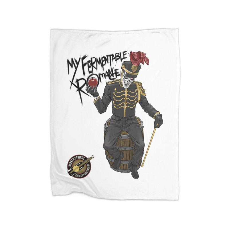 My Fermentable Romance Home Blanket by Ayota Illustration Shop