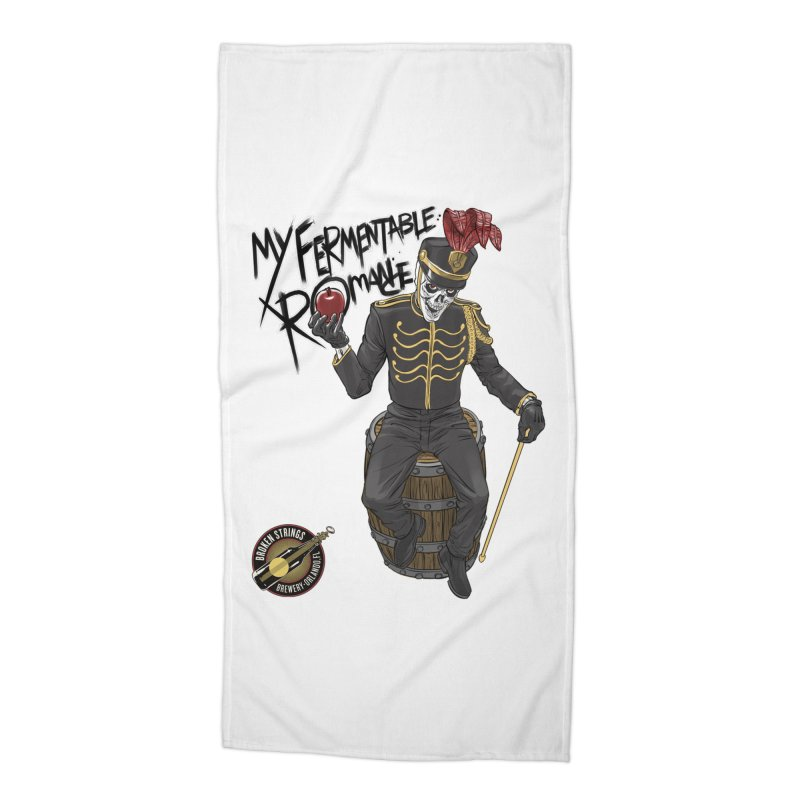 My Fermentable Romance Accessories Beach Towel by Ayota Illustration Shop
